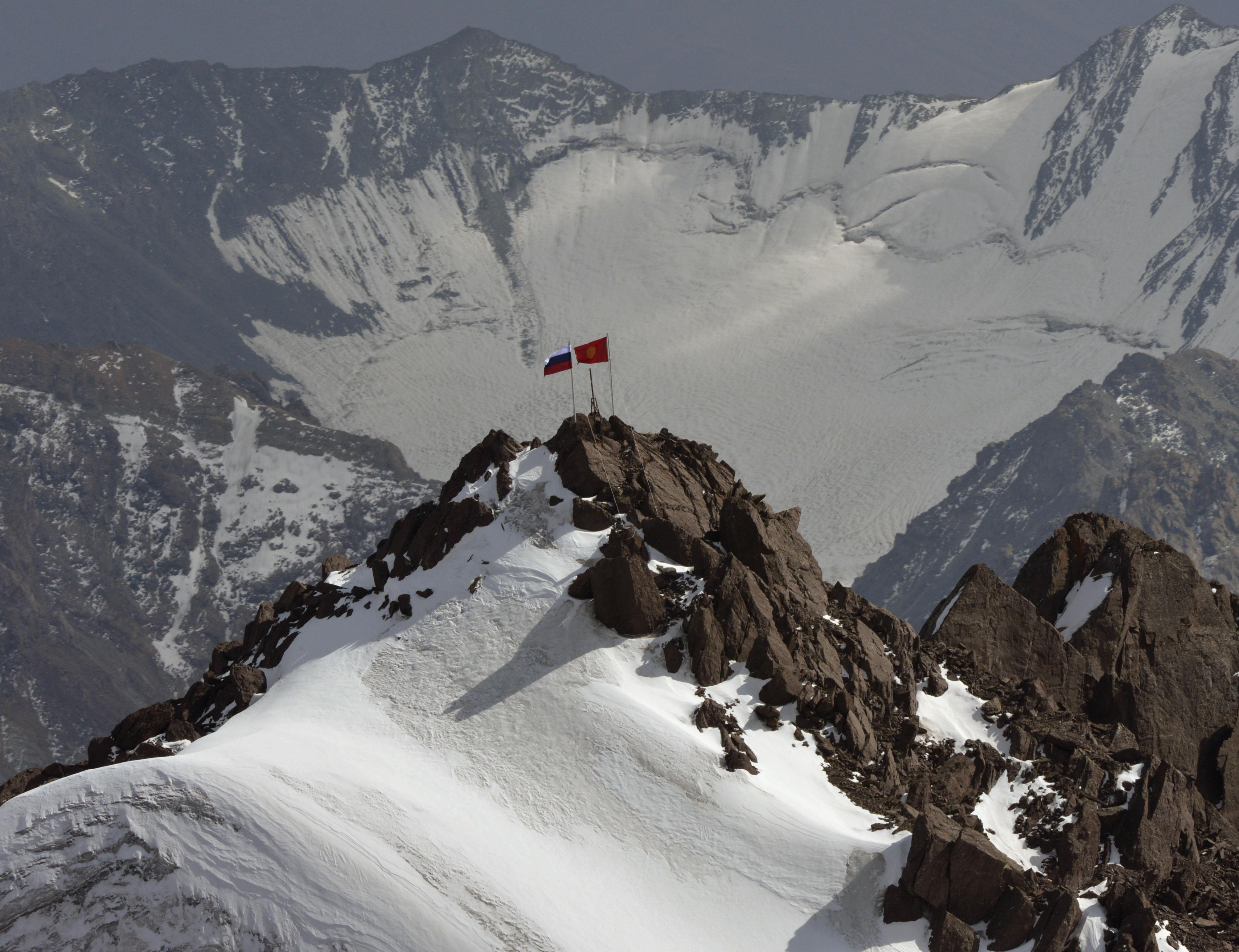 High Vladimir Putin Peak In The Tian Shan Mountain Nows أخبار العالم